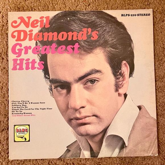 NEIL DIAMOND GREATEST HITS 1968